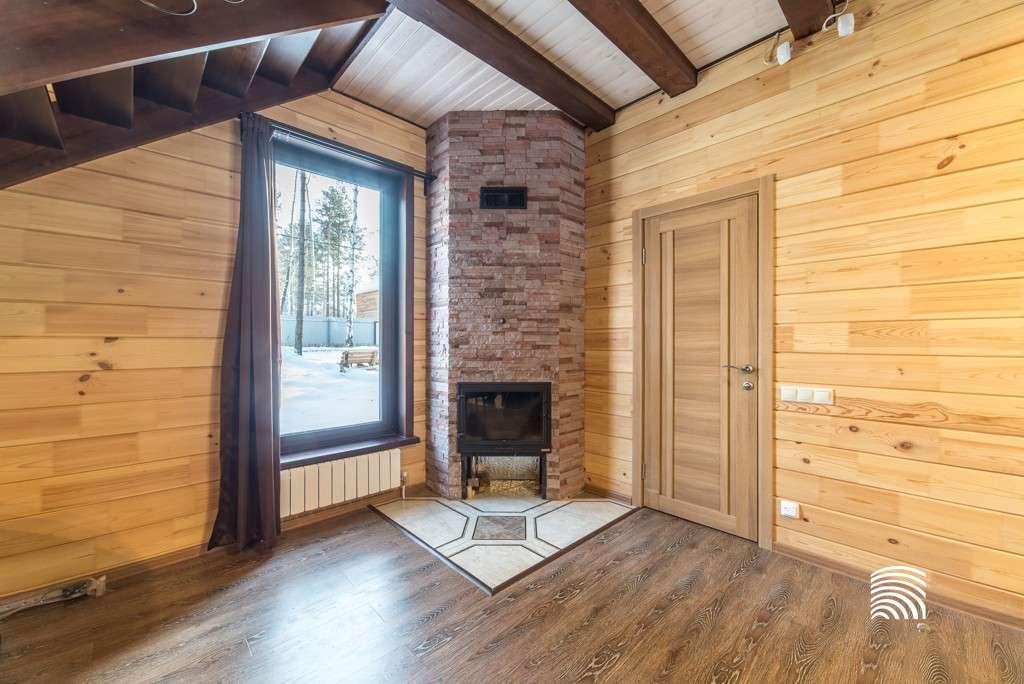 Готовые деревянные дома без отделки внутри фото